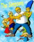The Simpsons by coldangel1
