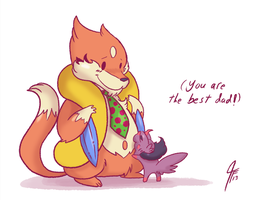 RD - Best Dad by TamarinFrog