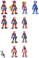 Reploid Base Research by Pixelated-Dude