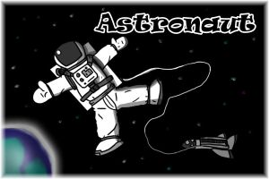 4 of 50 Astronaut Profession by jornas