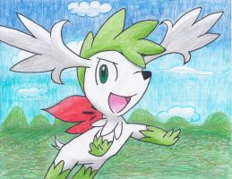 Shaymin Sky Forme by Aqws7