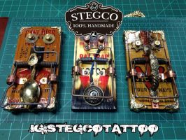 Stegco Hand built Hand made Foot Switches by Stegco