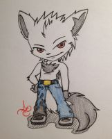Zack in chibi style XD by XxSweet-CoffeyxX