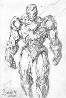 ANOTHER IRON MAN QUICK SKETCH by TALBOSngKAMOTE