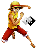 Monkey D. Luffy render by Ferdiferrah