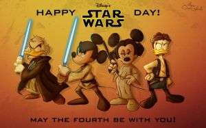 Happy Star Wars Day by MarioOscarGabriele