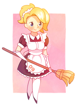 Did someone call a maid? by TheOceanOwl