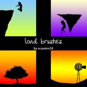 Land Brushes by xCassiex24