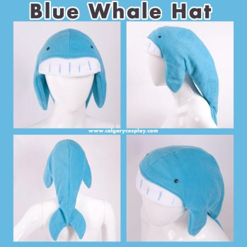 Blue Whale Hat , Design Winner by KayPikeFashion