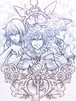 kingdom of hearts by sooj