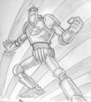 sketch a day JAM ZOR by chachaman