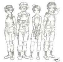 Leo 2 crew by NDTwoFives