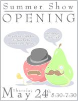 + Open Show Poster + by Blackberry-Sage