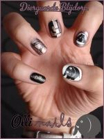 Olli nails by JawsOfKita-LoveHim