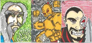 MK sketch cards by kylemulsow