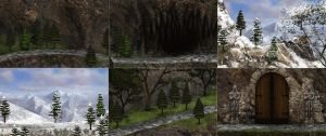 Mark of darkness map 22 - Mountains SCREENSHOTS by AlMaNeGrA