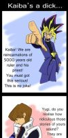 Kaiba's a dick by Vexild