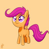Scootaloo by ParadigmPizza