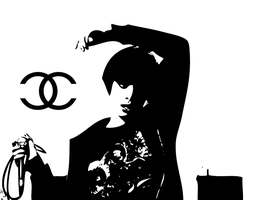 Alice Glass . CC - Vector by messinmotion