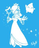 Waifu Rosalina by MetaKnuckles