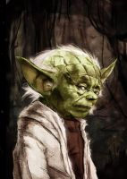Yoda by LukeDenby