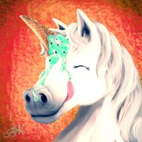 The Illustrious Ice Creamicorn by JessKristen