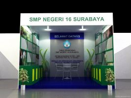 Stand Pameran SMPN 16 Sby by ayom52