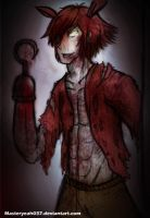 Foxy the Pirate fox - Five Nights at Freddy's 2 by MasterOhYeah