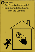 Portal 2 and Lemons by LargeCommander