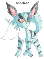 Fakemon: Shadleon by 6liza6
