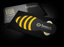Bee Business Card by xnOrpix