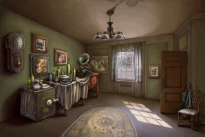 Old Room by Tottor