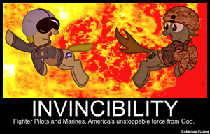 Invincibility by FirstAwesomePlatoon