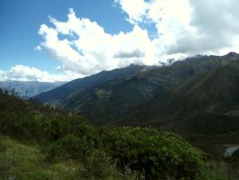 Between the Mountains by Shoeze