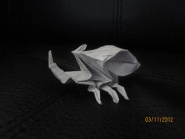 Origami beetle by Odolwa5432