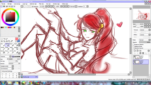 Pyrrha Nikos WIP by Melody-in-the-Air