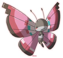 Vivillon by anouki-morgenstern