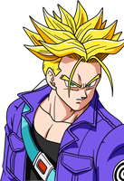 SSJ Trunks by BoScha196