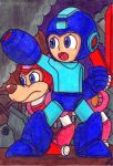 The Blue Bomber by Villaman89