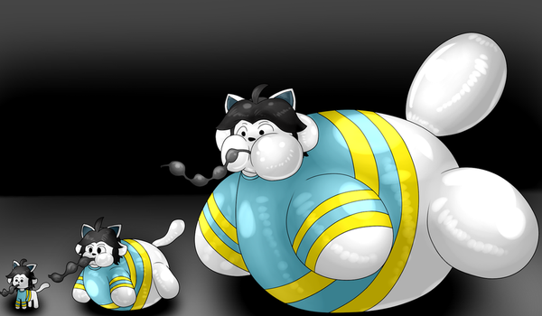 Giant Temmie Inflation Sequence by BalloonKitten