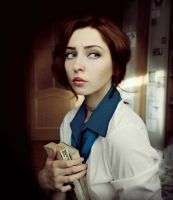 Elizabeth cosplay bioshock infinite by Sallywhale