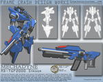 Mechadyne Striker Frame by TurinuZ