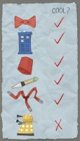Timey Wimey Checklist by THEoriginalADAM