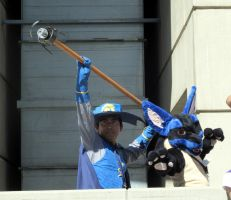 AX11-Aaron and Lucario by moonymonster