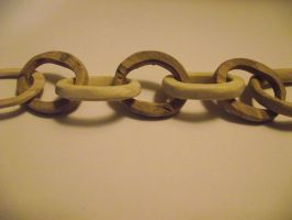 Wooden Chain by ArtCoursework