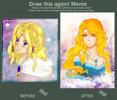 Draw This Again Meme by lioness-divinitas