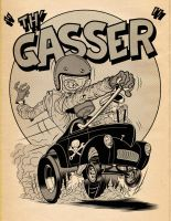Th' Gasser by angryrooster