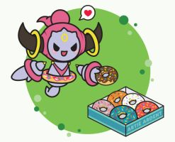 Hoopa's Donut Delight by ArtieArdent