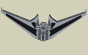 TIE Wing Top View by quacky112