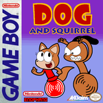 Dog and Squirrel video game GB Cover (FAKE) by Enophano